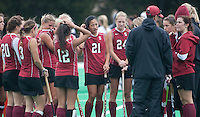 STANFORD, CA - November3, 2011:Team  during the Stanford vs. Appalachian State opener of  the  NorPac Championship at the Varsity Turf on the Stanford campus Thursday afternoon.<br /> <br /> Stanford defeated Appalachian State 7-0.