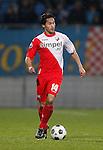 Nederland, Waalwijk, 21 april 2012.Eredivisie .Seizoen 2011-2012.RKC Waalwijk-FC Utrecht (0-2).Mark van der Maarel van FC Utrecht in actie met bal