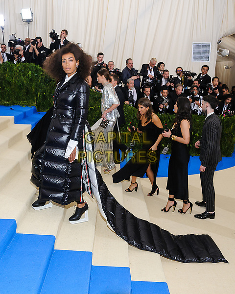 01 May 2017 - Solange Knowles. 2017 Metropolitan Museum of Art Costume Institute Benefit Gala at The Metropolitan Museum of Art. <br /> CAP/ADM/CS<br /> &copy;CS/ADM/Capital Pictures