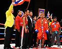 Terdsak Kokietgym (THA),.APRIL 6, 2012 - Boxing :.Terdsak Kokietgym of Thailand before the WBC super featherweight title bout at Tokyo International Forum in Tokyo, Japan. (Photo by Mikio Nakai/AFLO)