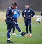 13.04.2018 Rangers training:<br /> Alfredo Morelos