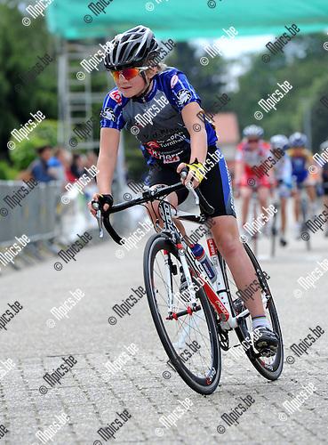 2011-05-15 / Wielrennen / seizoen 2011 / Aspiranten 13 jaar, Westerlo / VAN DER EYCKEN Pieter - BEERSE..Foto: Mpics