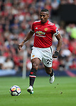 Manchester United's Antonio Valencia in action during during the premier league match at Old Trafford Stadium, Manchester. Picture date 13th August 2017. Picture credit should read: David Klein/Sportimage