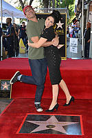 LOS ANGELES, CA. November 09, 2018: Sarah Silverman & Jon Hamm at the Hollywood Walk of Fame Star Ceremony honoring comedian Sarah Silverman.<br /> Pictures: Paul Smith/Featureflash