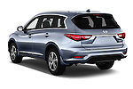 Car pictures of rear three quarter view of 2016 Infiniti QX60 - 5 Door Suv Angular Rear