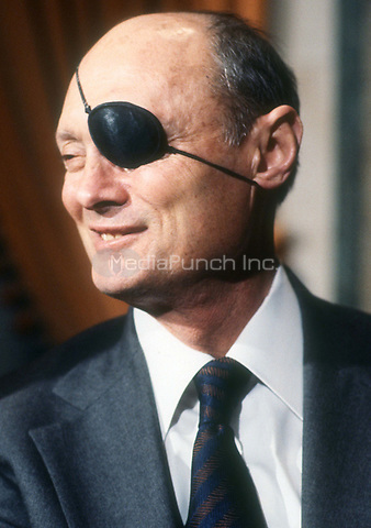 Moshe Dayan 1978<br /> Photo By Adam Scull/PHOTOlink.net /MediaPunch
