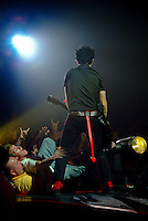 Billie Joe Armstrong performs with Green Day in Fairfax, VA on October 31, 2004.