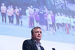 UTRECHT - KNHB Hockeycongres 2016. KNHB bestuurslid Peter Elders Foto Koen Suyk.