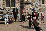 St Bartholomew's Bun Race. The Bartlemas Bun Race at  Sandwich Kent England August 24th 2017. St. Bartholomew's Hospital is one of the oldest established hostels for travellers and pilgrims, dating back possibly to 1190.