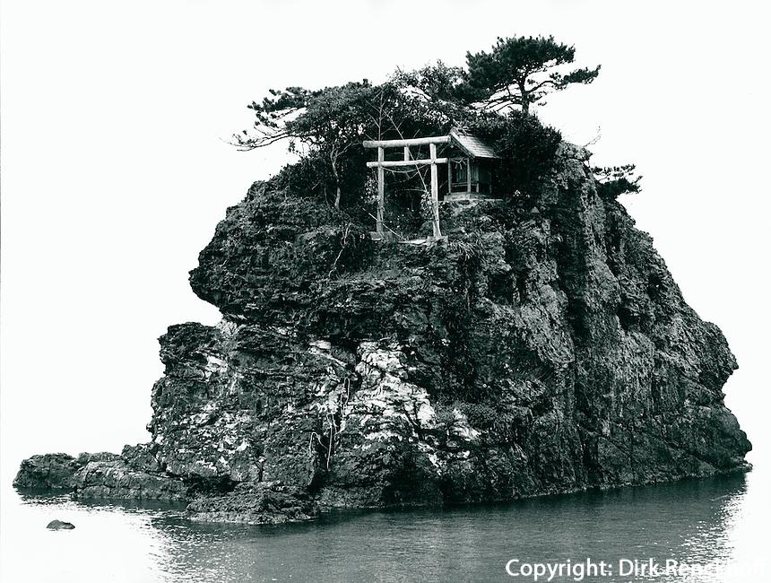 kleiner Shinto-Schrein, Japan