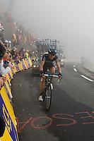 2010 Tour de France, Thomas Lovqvist.Col du Tourmelet