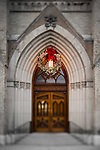 MC 12.26.16 Basilica Wreath.JPG by Matt Cashore/University of Notre Dame