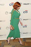 """Christina Hendricks at the 2014 PaleyFest """"Mad Men"""" arrivals held at The Dolby Theatre Los Angeles, Ca. March 21, 2014."""
