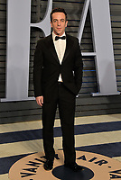 BEVERLY HILLS, CA - MARCH 4: BJ Novak arrives at the 2018 Vanity Fair Oscar Party at the Wallis Annenberg Center for the Performing Arts on March 4, 2018 in Beverly Hills, California.(Photo by Scott Kirkland/PictureGroup)