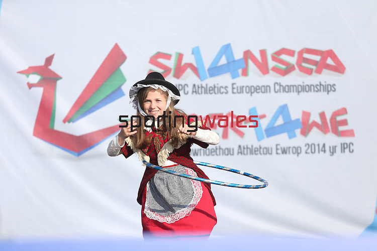 IPC European Athletics Championship 2014<br /> Young Volunteer<br /> Swansea University<br /> <br /> 21.08.14<br /> ©Steve Pope-SPORTINGWALES