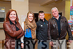 Fight Night : Pictured at the Fight Night held at the Listowel Community Centre on Friday night last were Norma & Stephanie Collins, Gerry Hickey & PJ Collins.