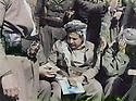 Iraq 1984  .At his headquarter, Jalal Talabani preparing a speech concerning his negotiations with Saddam Hussein.Irak 1984.A son quartier general, Jalal Talabani preparant son discours pour parler des negociations avec Saddam Hussein