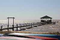 Fairhope, Alabama - Fairhope Yacht Club, marinas and the eastern shore.