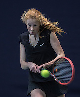 Hilversum, Netherlands, December 4, 2016, Winter Youth Circuit Masters, Demi Huisman (NED)<br /> Photo: Tennisimages/Henk Koster