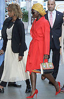 NEW YORK, NY-September 25: Lupita Nyong'o at Good Morning America to talk about her new movie Queen of Katwe in New York. September 25, 2016. Credit:RW/MediaPunch