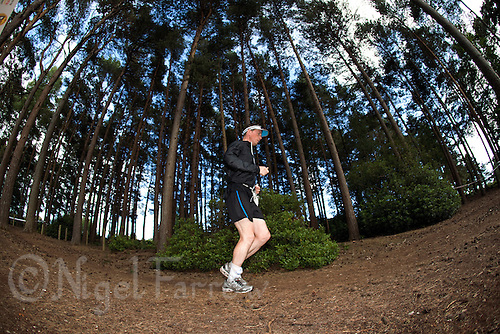 11 JUN 2011 - BRANSGORE, GBR - Gerry Duffy - Deca Enduroman day 9 - Enduroman Ultra Triathlon Championships .(PHOTO (C) NIGEL FARROW)
