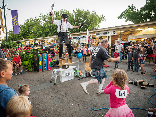 Jeremiah Johnston, Juggler, at the 79th Amador County Fair, Plymouth, Calif.<br /> <br /> <br /> #AmadorCountyFair, #PlymouthCalifornia,<br /> #TourAmador, #VisitAmador,
