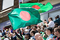 Bangladesh fan=s celebrate at the dismissal of Jos Buttler (England) during England vs Bangladesh, ICC World Cup Cricket at Sophia Gardens Cardiff on 8th June 2019