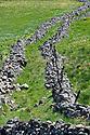 05/05/11 - NASBINALS - LOZERE - FRANCE - Chemin de Saint Jacques de Compostelle dans les paysages de l Aubrac - Photo Jerome CHABANNE