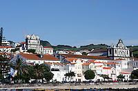 Igreja Matiz und Igreja de Nossa Senhora do Carmo in Horta auf der Insel Faial, Azoren, Portugal