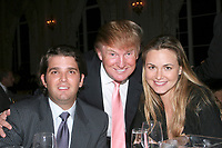 ***Vanessa Trump, the wife of Donald Trump Jr., was taken to a hospital on Monday after complaining of nausea when she was exposed to an unidentified white powder that came in the mail***<br /> FILE PHOTO: PALM BEACH, FL - 2007:  Donald Trump and Melania Knauss at the Mar-A-Lago Club in 2007 in Palm Beach, Florida.<br /> People:  Donald Trump Jr, Donald Trump and Vanessa Trump<br /> CAP/MPI22<br /> &copy;MPI22/Capital Pictures