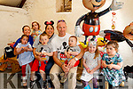 Tralee twins, Ryan&Ethan Quirke, seated centre with their parents Christabel&Jimmy, had a great , ' Mickey Mouse'  Themed 3rd birthday party last Saturday at Sandy Feet Pet Farm, Camp, also pictured are far left, Katie, Debbie&Tara Dillon, Far Rt are Ina&Kimberley Horan.