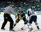 Brian Roloff (Vermont - 14), Yale? - The University of Vermont Catamounts defeated the Yale University Bulldogs 4-1 in their NCAA East Regional Semi-Final match on Friday, March 27, 2009, at the Bridgeport Arena at Harbor Yard in Bridgeport, Connecticut.
