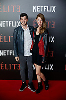 Anton Lofer and Gaikan attends to 'Elite' premiere at Museo Reina Sofia in Madrid, Spain. October 02, 2018. (ALTERPHOTOS/A. Perez Meca) /NortePhoto.com NORTEPHOTOMEXICO