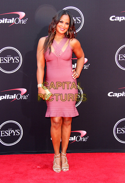 12 July 2017 - Los Angeles, California - Laila Ali. 2017 ESPYS Awards Arrivals held at the Microsoft Theatre in Los Angeles. <br /> CAP/ADM<br /> &copy;ADM/Capital Pictures