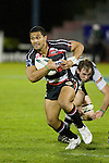Lelia Masaga leaves Will Crutchley in his wake. Air New Zealand Cup rugby game between Counties Manukau Steelers & Hawkes Bay, played at Mt Smart Stadium on the 23rd of August 2007. Hawkes Bay won 38 - 14.