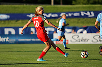 Piscataway, NJ - Saturday June 3, 2017: Allie Long during a regular season National Women's Soccer League (NWSL) match between Sky Blue FC and the Portland Thorns at Yurcak Field.  Portland defeated Sky Blue, 2-0.