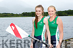 Workmens RC rowers Ciara Browne and Ciara Moynihan who rowed for Ireland at the Home Nations rowing championships in Scotland last week