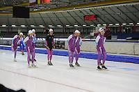 SCHAATSEN: HEERENVEEN: 18-09-2014, IJsstadion Thialf, Topsporttraining, Team Beslist.nl, ©foto Martin de Jong