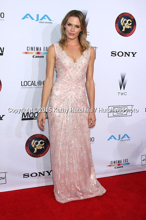 LOS ANGELES - FEB 8:  Lauren Shaw at the 2015 Society Of Camera Operators Lifetime Achievement Awards at a Paramount Theater on February 8, 2015 in Los Angeles, CA