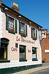 La Parisienne Cafe Bar in Romsey, Hampshire, England