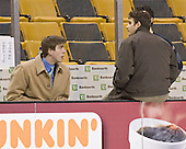 Kyle Kucharski, Joe Adams, ? - The Boston College Eagles defeated the Northeastern University Huskies 5-2 in the opening game of the 2006 Beanpot at TD Banknorth Garden in Boston, MA, on February 6, 2006.