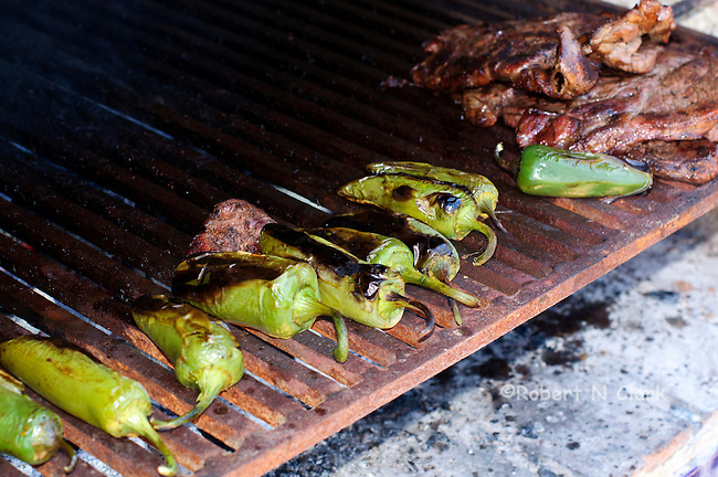 Carne Asada at Rancho Cortes, San Antonio de Minas, Baja California, Mexico