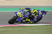 17th March 2018, Losail International Circuit, Lusail, Qatar; Qatar Motorcycle Grand Prix, Saturday qualifying; Valentino Rossi (Movistar Yamaha)  during free practice