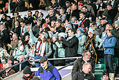 7th December 2017, Twickenham Stadium, London, England; The Varsity Match, Cambridge versus Oxford;  Cambridge supporters celebrate their victory 20:10 over Oxford