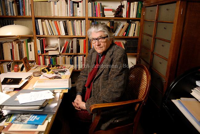 Paul Nizon, Swiss writer in 2011.