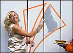 Nederland,Amersfoort, 03-09-2007 - Prinses Maxima opent De Kamers een huis voor cultuur en ontmoeting in de Vinex wijk Vathorst noord. FOTO: Gerard Til