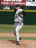 May 16, 2004:  Pitcher Matt Childers (45) of the Indianapolis Indians, Triple-A International League affiliate of the Milwaukee Brewers, during a game at Frontier Field in Rochester, NY.  Photo by:  Mike Janes/Four Seam Images