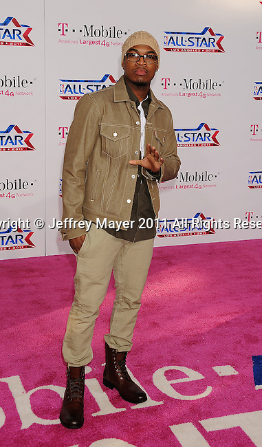 LOS ANGELES, CA - FEBRUARY 20: Ne-Yo arrives at the T-Mobile Magenta Carpet at the 2011 NBA All-Star Game at L.A. Live on February 20, 2011 in Los Angeles, California.