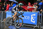 Rudiger Selig (GER) Bora-Hansgrohe in action during Stage 1, a 14km individual time trial around Dusseldorf, of the 104th edition of the Tour de France 2017, Dusseldorf, Germany. 1st July 2017.<br /> Picture: Eoin Clarke | Cyclefile<br /> <br /> <br /> All photos usage must carry mandatory copyright credit (&copy; Cyclefile | Eoin Clarke)