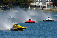 Courtney Stewart, T-720, Kevin Gunther, T-16, Richard Shaw, T-2, Owen Henderson, T-5        (1.5 Litre Stock hydroplane(s)